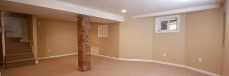 Basement Finishing in Bergen County New Jersey.